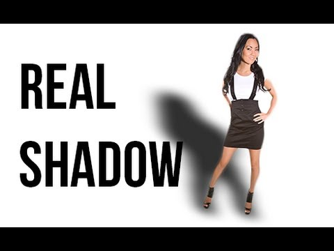 Photoshop Tutorial : Create A Real Drop Shadow