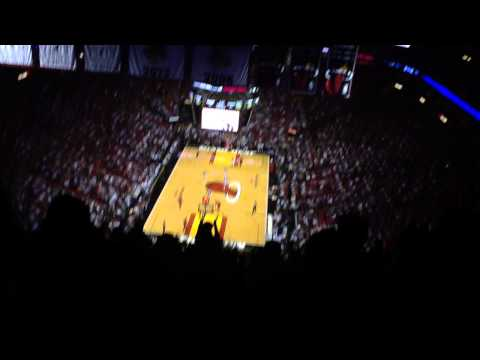 Miami Heat American Airlines Arena Section 415 Amazing Game