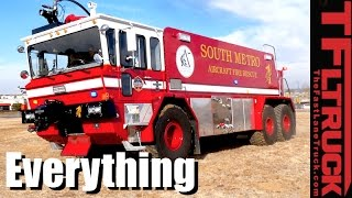 Red 1 - 1989 Oshkosh T-2500 6X6 Aircraft Fire Truck: Everything You Ever Wanted to Know