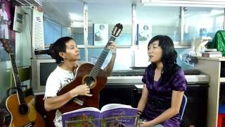 dạ khúc guitar - lớp nhạc Hạ Trắng