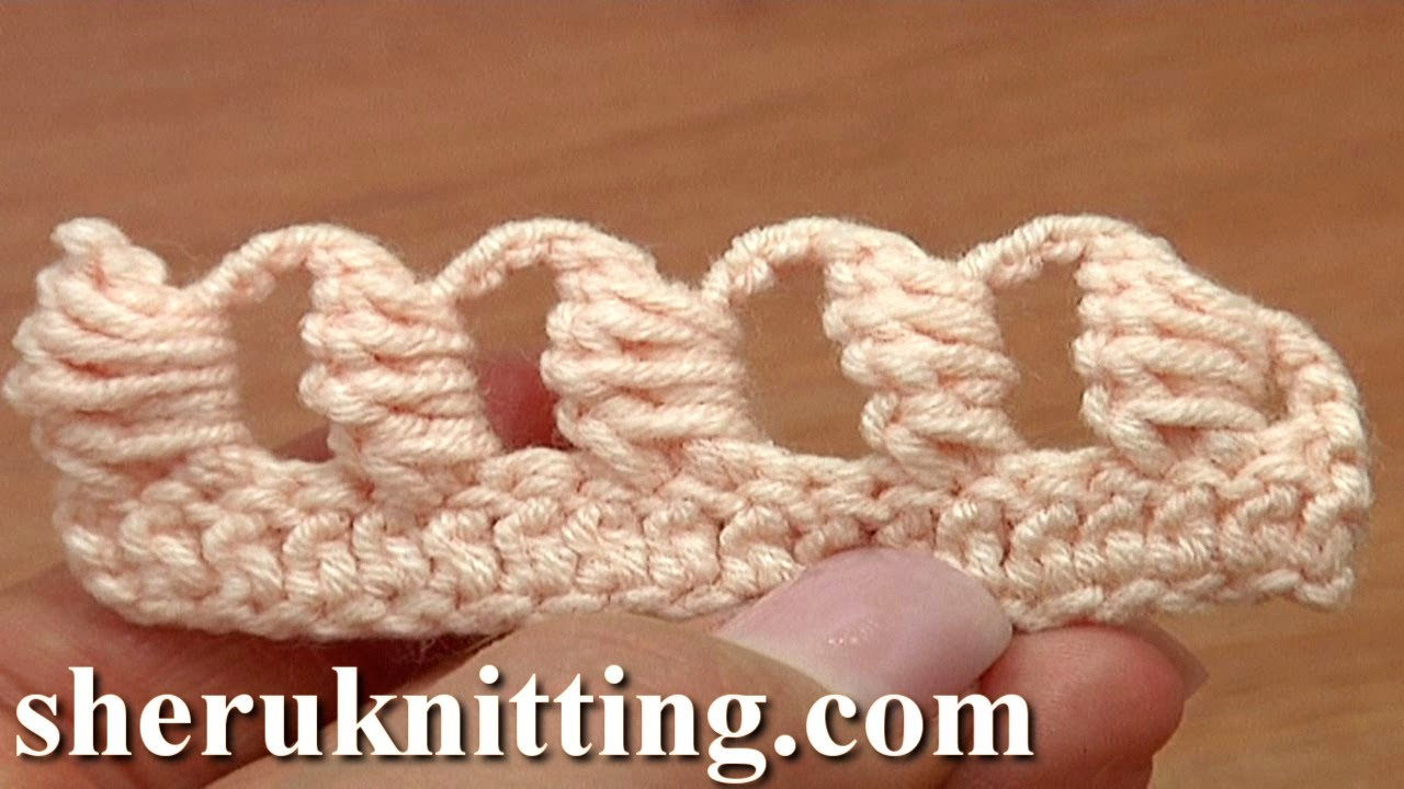 Crochet Bullion Block Stitch Tutorial 40 Part 6 Of 7 Way To Work The