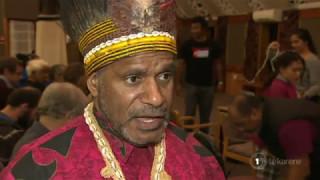 Video West Papua leader Benny Wenda receives welcome on Ōrākei Marae download MP3, 3GP, MP4, WEBM, AVI, FLV Juli 2018