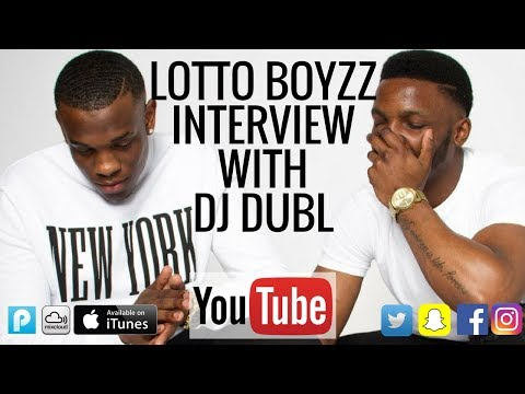 Lotto Boyzz Interview - Recording with MIST, voice notes in church & Birmingham artists!
