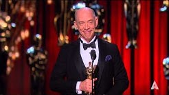 J.K. Simmons winning Best Supporting Actor