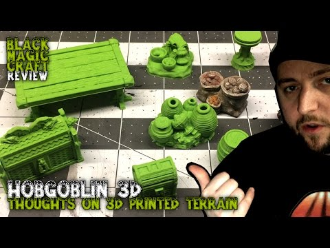 Hobgoblin 3d Review & My Thoughts on 3d Printined Terrain