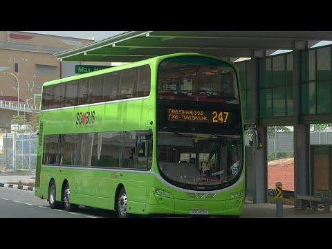 SBS Transit Bus Service 247, SG5460K (Full Trip)