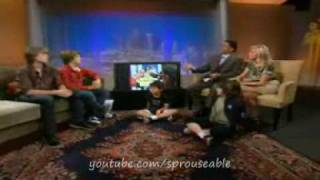 Dylan and Cole Sprouse - KTLA Interview 2009 - Short Version