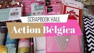 Haul de Compras Scrapbook | Action Bélgica | 1era parte