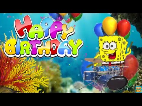 Spongebob Happy Birthday Song Nickelodeon
