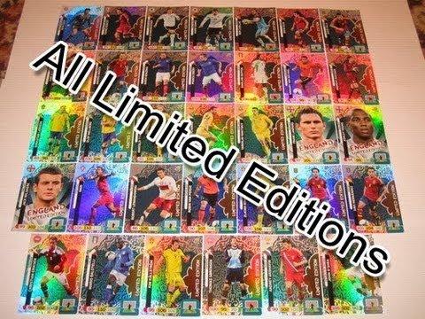 ALL 53 LIMITED EDITION cards ADRENALYN XL EURO 2012 Poland-Ukraine TCG panini