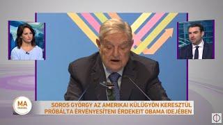 Soros György az amerikai külügyön keresztül próbálta érvényesíteni érdekeit Obama idejében
