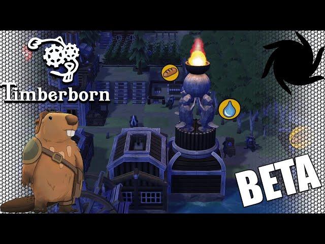 Timberborn Beta - Fancy Beavers - The Flame