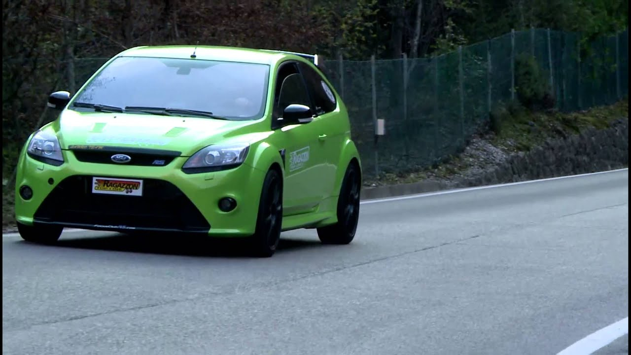 ford focus rs 2 5 turbo 224kw with ragazzon exhaust system youtube. Black Bedroom Furniture Sets. Home Design Ideas