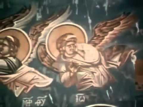 UFO in the Monastery of Decani - Serbian