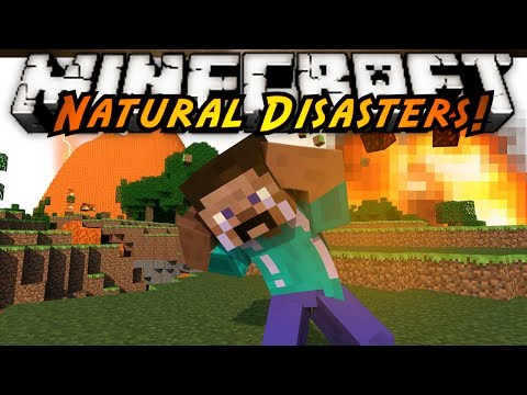 Minecraft Mod Showcase : NATURAL DISASTERS!