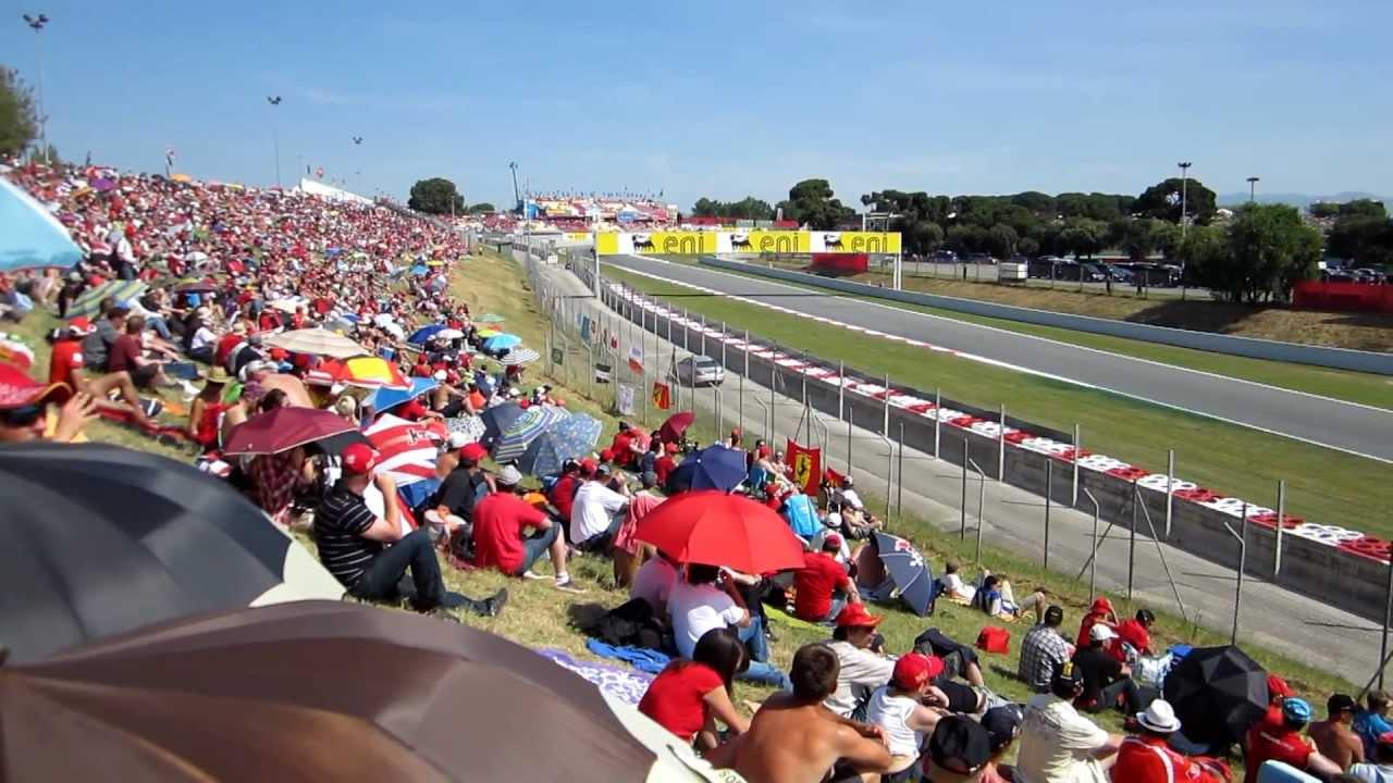 f1 gp2 spain espana circuit catalunya 2011 curva wurth domingo campsa pelouse barcelona alonso ...