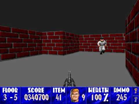 Mac-enstein 3D: Second Encounter (SDL) - Floor 3-5 (Secret Floor)