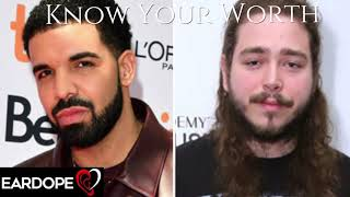 drake---know-your-worth-ft-j-balvin-post-malone-new-song-2019