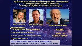 Entrevista a Giorgio Bongiovanni con la participación del investigador Pier Giorgio Caria.