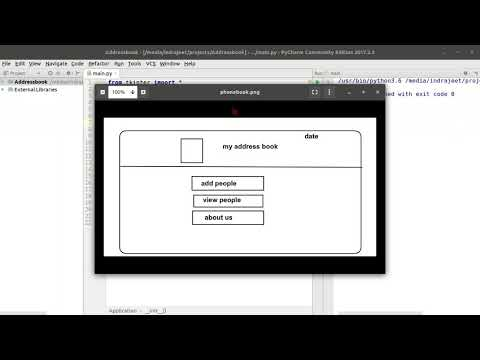 Python GUI Tutorial - 62 - PhoneBook App -  Introduction thumbnail