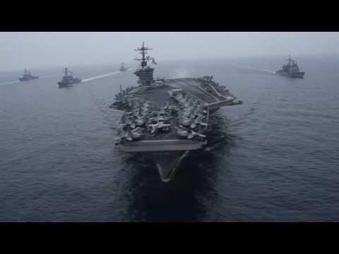 NEWS ALERT Carl Vinson Carrier Strike Return Home After 5 Months Deployment To Indo Asia P
