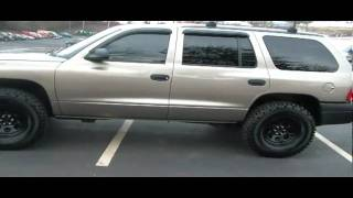 Used dodge durango 2003 4 wheel drive 1 owner clean car fax for sale east TN.