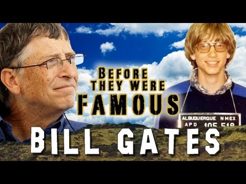 BILL GATES - Before They Were Famous