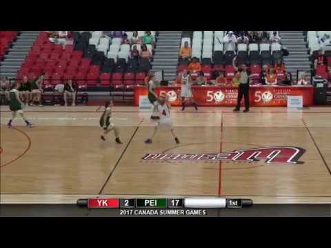 2017 Canada Summer Games - Women's Basketball - Prince Edward Island vs. Yukon