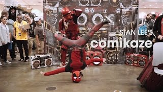 bgirl DEADPOOL at Stan Lee's COMIKAZE 2015 // .stance
