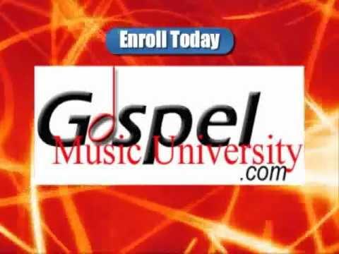 A peek inside the Gospel Music University online Classroom