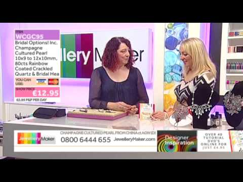 How To Use Lace Work JewelleryMaker LIVE 26/10/2014