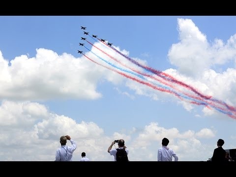 Singapore Airshow 2016 Aerial Display