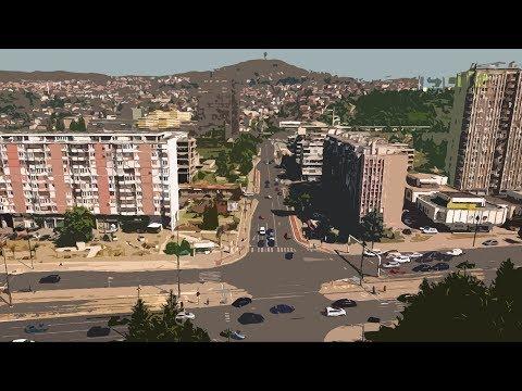 Let od Grbavice do Pofalića   Sarajevo