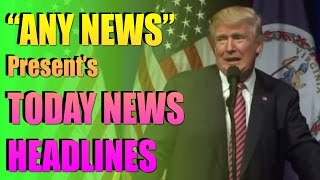"TODAY NEWS HEADLINES - USA Presidential Campaigns : Trump Jokes ""You Can Get The Baby Out Of Here"""