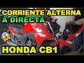 HONDA CB1 CORRIENTE ALTERNA A DIRECTA Y EXPLORADORAS