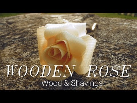 The Perfect Valentines Gift! Simple Wooden Rose.