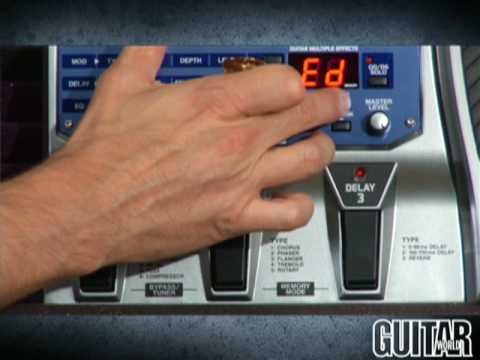 Boss ME-20 Guitar Multiple Effects processor