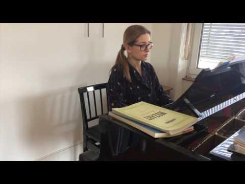 Canzonetta sull' aria - Duett Contessa Susanna - LE NOZZE DI FIGARO - Accompaniment