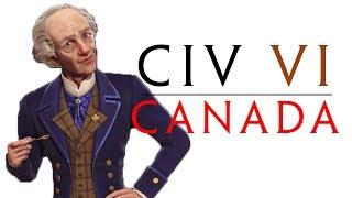 Civilization VI: Canada Redux! - DEITY - Part 1