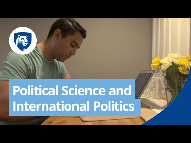 Watch Political Science and International Politics Degree Programs Online on YouTube.