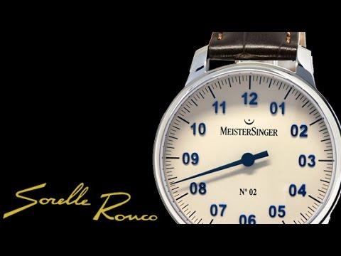 Meistersinger N.02 43 mm Ref. AM6603N
