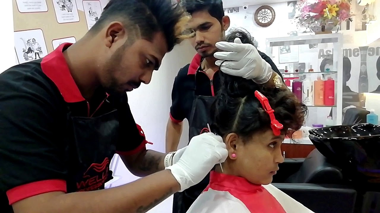 Jawed Habib Salon Thane Stylish Hair Cut 299 Hair Smoothing Offer