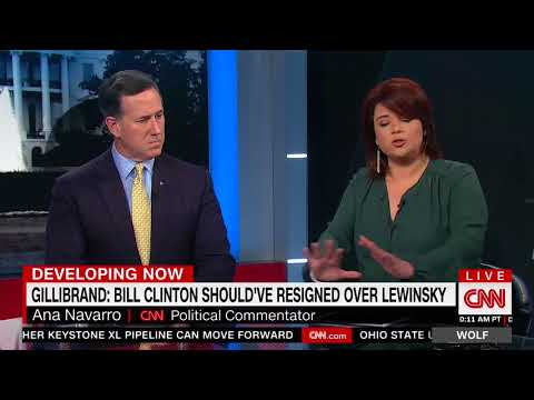 "CNN's Ana Navarro: Bill Clinton ""Should Take The Opportunity Right Now To Apologize To The Women"""