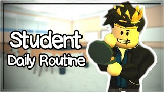 BLOXBURG MINI UPDATE! Student Daily Routine... I'm the new kid! (Roblox Roleplay)