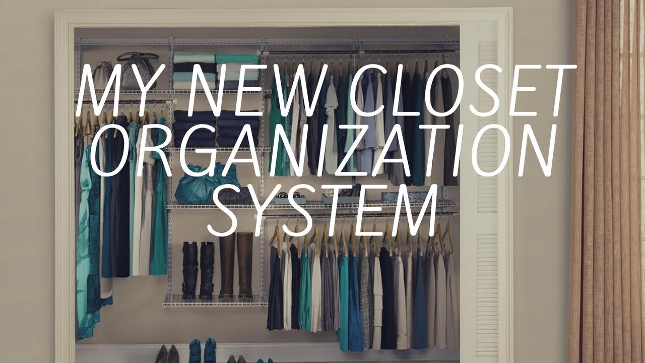 My Closet Redo Organization System Purge
