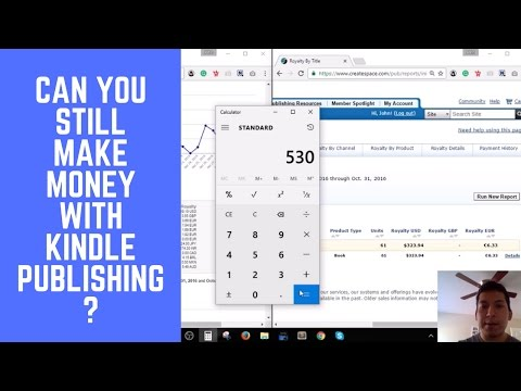 Can You Still Make Money with Kindle Publishing? -$530+ w/ One Book!  Kindle Journey Ep. 2