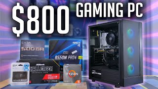 $800 Streaming/Gaming PC Build 2021!