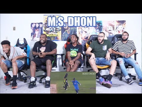 MS Dhoni Insane wicket keeping skills | REACTION