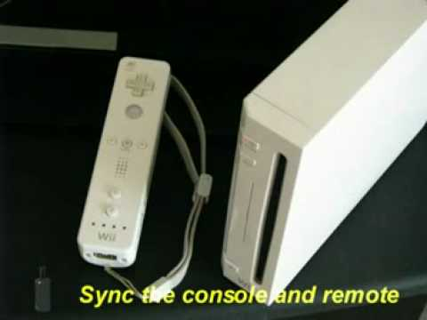 How to Sync Your WiiMote