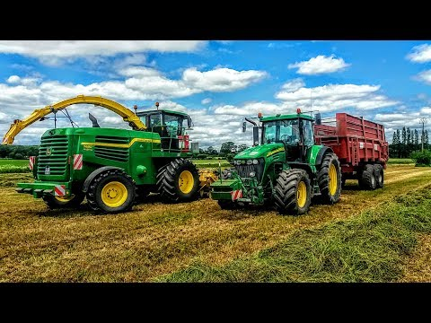 ensilage d'herbe 2017 100% JohnDeere S.A.R.L THURIAUD [GoPro]